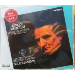 Berlioz: Requiem. Colin Davis, London Symphony Orchestra & Chorus. 2 CD. Philips
