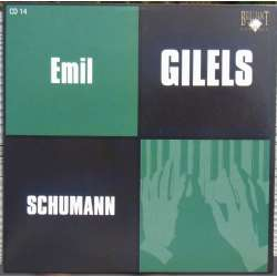 Schumann: Klaversonate nr. 1 & 2. + Arabesque, Carnaval. Emil Gilels. 1 CD. Russian Archives