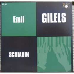 Scriabin: Piano Sonata no. 3. & Medtner: Piano sonata. Emil Gilels. 1 CD. Russian Archives