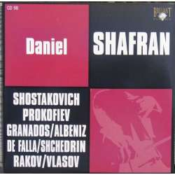 Shostakovich: Cellosonate. & de Falla: Suite populaire Espagnole. Daniel Shafran. 1 CD. Russian Archives