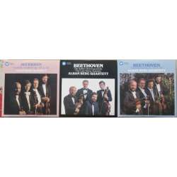 Beethoven: The Late String Quartetts. Alban Berg SQ.. 3 CD. Warner