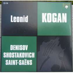 Shostakovich: Violin Concerto no. 1. Leonid Kogan, Gauk. 1 CD. Russian Archives