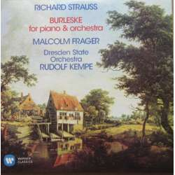 Strauss: Burleske for piano and orchestra. Frager, Kempe. 1 CD. Warner