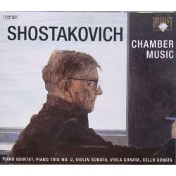 Shostakovich: Chamber music. 3 CD. Brilliant Classics