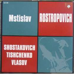 Shostakovich: Cello Concerto no. 1. Mstislav Rostropovich, Rozhdestvensky. 1 CD. Russian Archives