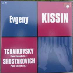 Shostakovich & Tchaikovsky: Piano Concerto no. 1. Kissin, Gergiev. 1 CD. Russian Archives