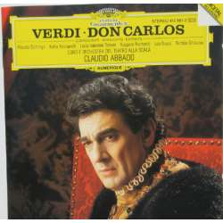 Verdi: Don Carlos in french. Domingo, Ricciarelli, Raimondi, Nucci, Ghiaurov, La Scala, Claudio Abbado. 1 CD. DG