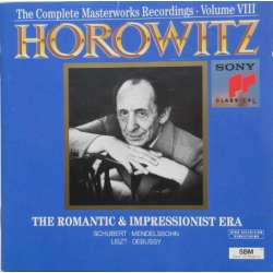 Horowitz: The Romantic and Impressionist Era. Schubert, Mendelssohn. Liszt, Debussy. 1 CD, Sony