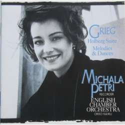 Grieg: Holberg Suite. + Melodies and Dances. Michala Petri, ECO, Okku Kamu. 1 CD. RCA
