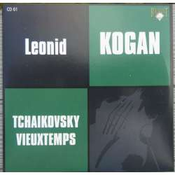 Vieuxtemps: Violin Concerto no. 5. & Tchaikovsky: Violin Concerto. Leonid Kogan, USSR SO, Kondrashin. 1 CD. Russian Archives
