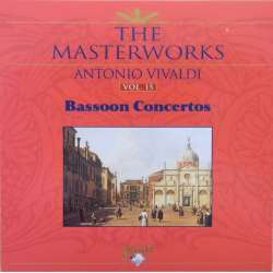 Vivaldi: Bassoon Concertos. Daniel Smith, ECO. Philip Ledger. 1 CD. Brilliant Classics.