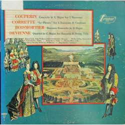 Couperin: Concerto for two bassoons. & Corrette: Le Phenix for four bassoons. 1 LP. Turnabout