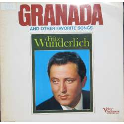 Fritz Wunderlich: Granada and other favorite songs. 1 LP. Venue