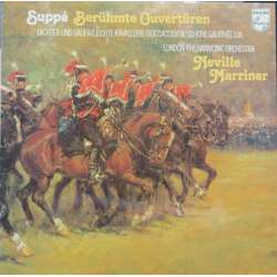 Suppe: Famous overtures. LPO, Neville Marriner. 1 LP. Philips