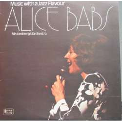 Alice Babs. Music with a Jazz flavour. Nils LIndbergs Orchester. 1 LP. Swedish Society