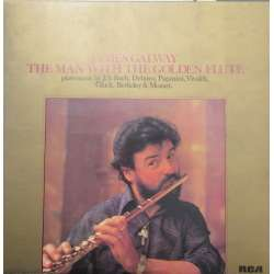 James Galway. The man with the golden flute. 1 LP. RCA