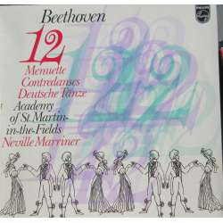Beethoven: 12 menuets + 12 German dances. Neville Marriner, Academy of St. Martin in the Fields. 1 LP. Philips