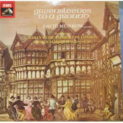 Greensleves to a Ground. David Munrow, Early music Consort of London, George Malcolm. 1 LP. EMI.