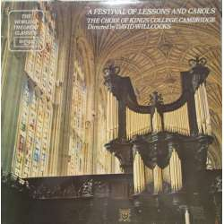 A Festival of Leassons and Carols. The Choir of King's College, Cambridge. David Willcocks. 1 LP. Argo