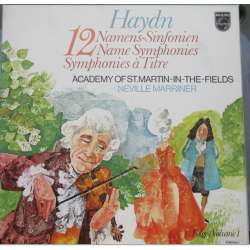 Haydn: 12 Name Symphonies. Neville Marriner, Academy of St. Martin in the Fields. 6 LP. Philips
