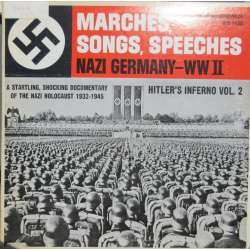 Marches, Songs, Speeches from Nazi-Germany, VW II. 1 LP. Audio
