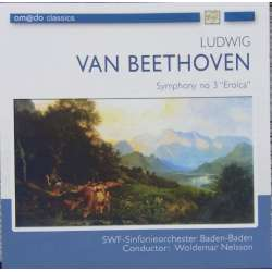 Beethoven: Symphony no. 3. Woldemar Nelsson conducts SWR SO. 1 CD.