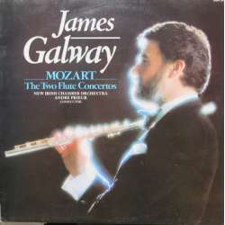 Mozart: Flute Concertos 1 & 2. James Galway, New Iriah Chamber Orchestra, Andre Prieur. 1 LP. Pickwick