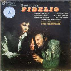 Beethoven: Fidelio. Otto Klemperer, Ludwig, Vickers, Frick, Unger, Berry. 3 LP. EMI. SAXQ 7364, 65, 66,