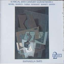 Lyrical 20th Century guitar music. Raphaella Smits. 1 cd. Accent