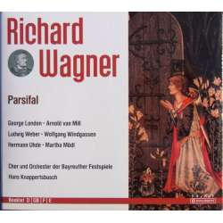Wagner: Parsifal. Mödl, London, Windgassen. Knappertsbusch. 4 CD. Membran