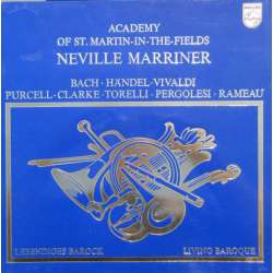 Living Baroque. Neville Marriner, Academy of St. Martin in the Fields. 1 LP. Philips