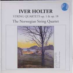 Iver Holter: String Quartets. Op. 1 & 18. The Norwegian String Quartet. 1 CD. NKF. 50027