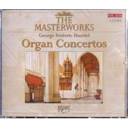 Händel: Organ Concertos. Ivan Sokol. Slovak CO. Warchal. 3 CD. Brilliant Classics