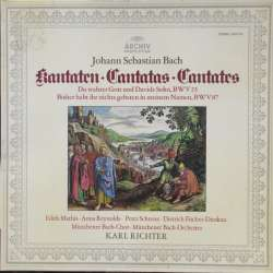 Bach: Cantatas BWV 23 + BWV 87. Karl Richter, Munchener Bach Chor and Orchester. 1 LP. Archiv
