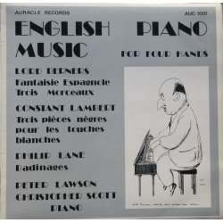 English piano music for four hands. Played by Peter Lawson, Christopher Scott. 1 LP.