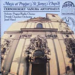 Music from Prags Church. Cernohorsky, Vanura & Artopheus. 1 CD. Supraphon