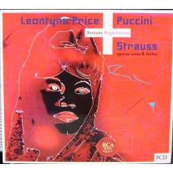 Leontyne Price synger R. Strauss, & Puccini opera arier. 2 CD. RCA