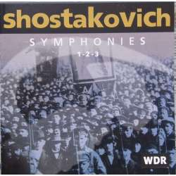 Shostakovich: Symfoni nr. 1, 2, 3. Rudolf Barshai, WDR SO. 1 CD. Brilliant Classics