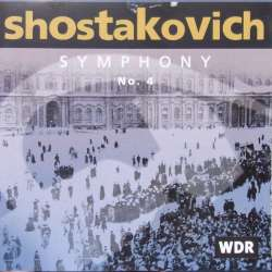 Shostakovich: Symphony no. 4. Rudolf Barshai, WDR. SO. 1 CD. Brilliant Classics