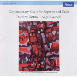 Contemporary Music for Soprano and Cello. Dorow, Kvalbein. 1 CD. Simax