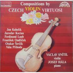 Compositions by Czech violin virtuosi. 1 CD. Supraphon.
