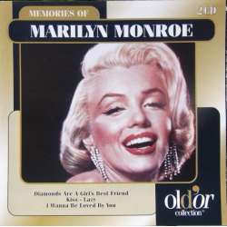 Marilyn Monroe: Diamonds are Girls best friend, Kiss, I wanna be loved by you, o.m.a. 2 CD.