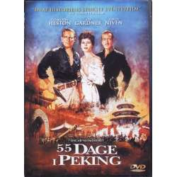 55 days in Peking with Charlton Heston, Ava Gardner, David Niven. 1 DVD