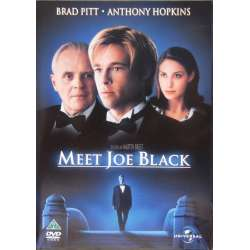 Meet Joe Black. Brad Pitt, Anthony Hopkins. 1 DVD.