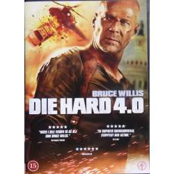 Die Hard. 4.0 med Bruce Willis. 1 DVD.