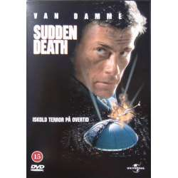 Sudden Death. Jean Claude van Damme & Power Booths. 1 DVD.