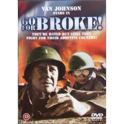 Go for Broke. Japanese soldiers in the American army in the second World War II. 1 DVD.