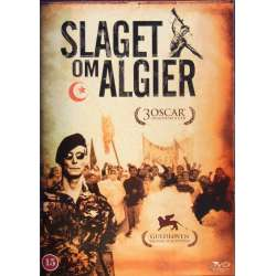The Battle of Algier. Brahim Haggiag and Jean Martin. 1 DVD.