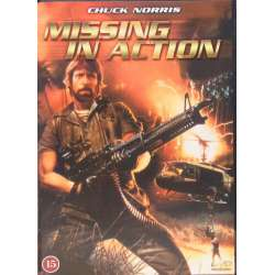 Missing in Action. Chuck Norris. 1 DVD.