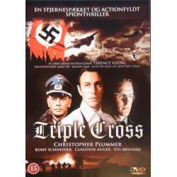 Triple Cross. Christopher Plummer, Romy Schneider, Yul Brynner. 1 DVD.